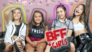 DESAFIO MUSICAL COM PALAVRAS ALEATÓRIAS! Ft. BFF Girls