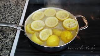 Lemon Water Flush (Master Cleanse Diet)   Lose 5 LBS In 1 Day