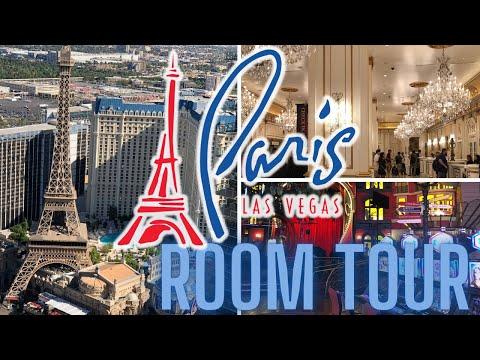 PARIS Las VEGAS, RED ROOM, Corner High Floor, ROOM REVIEW