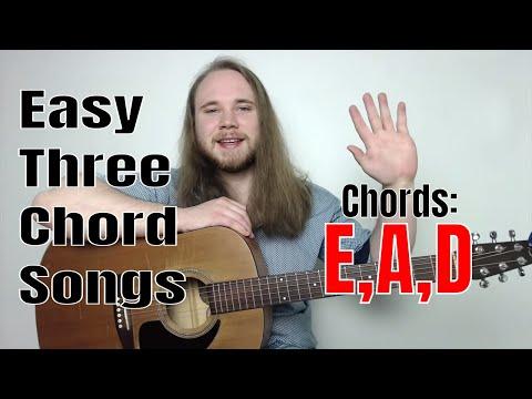 Easy 3 Chord Rock Songs | Easy 3 Chord Guitar Songs For Beginners