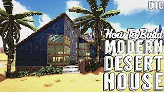 Ragnarok Desert House :: Ark Building Tutorial (No Mods) :: How To Build A Modern House