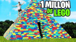 PIRAMIDE GIGANTE DE LEGO - COSAS GRANDES#43