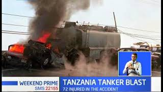 62 confirmed dead after an oil tanker exploded in Morogoro