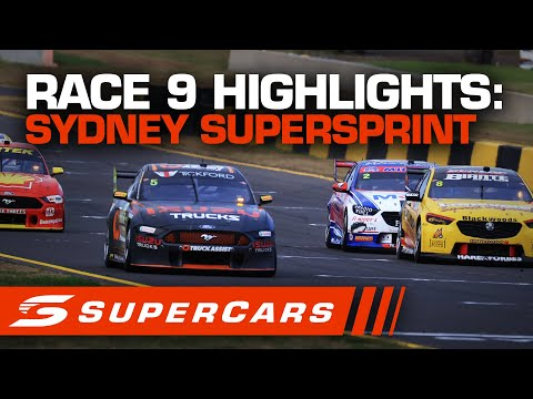 2020年 SUPERCARS シドニースーパースプリント #race9 レースハイライト動画