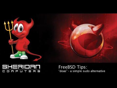 FreeBSD Tips - doas sudo alternative