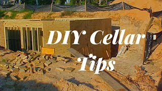Building A Cellar~~Helpful Tips