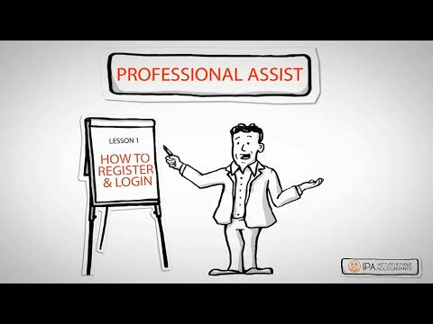 Video Professional Assist - How To Register & Login
