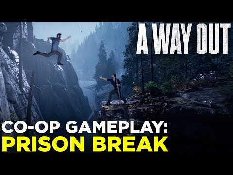 A WAY OUT — 10 Minutes of PRISON BREAK Co-op Gameplay!