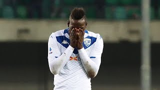 video: Mario Balotelli strikes back with late goal after Brescia's match at Verona is overshadowed by alleged racist chants