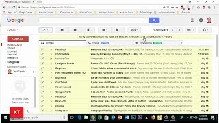 Delete all emails from gmail at once