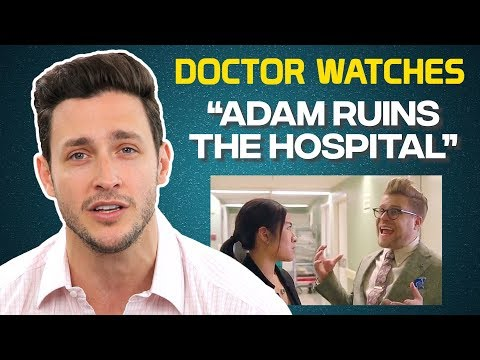 """Real Doctor Reacts to """"Adam Ruins the Hospital"""""""