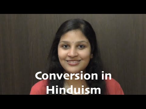 Conversion in Hinduism