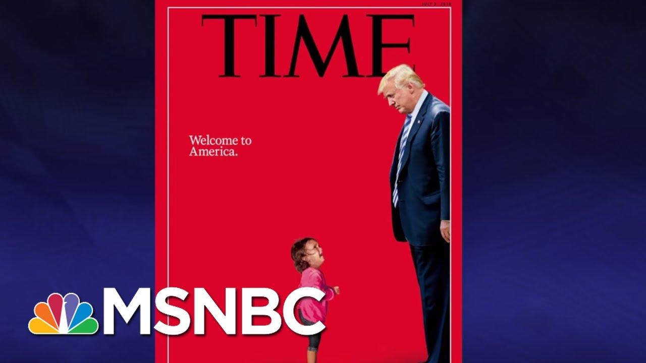 The Little Girls Blocking President Donald Trump | The Last Word | MSNBC thumbnail