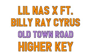 old town road karaoke female - TH-Clip