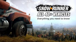 Snowrunner All 40 New Vehicles, New Features, Maps & Everything you need to know