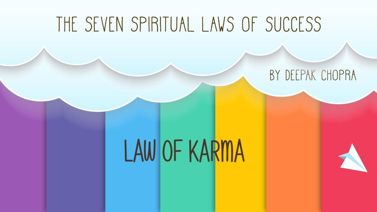 3rd spiritual law of success  by Deepak Chopra