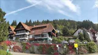 preview picture of video 'Bühlertal Schwarzwaldmädel Landgasthof am 03.10.2013'