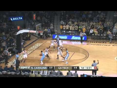 Video: UNC-Georgia Tech Game Highlights