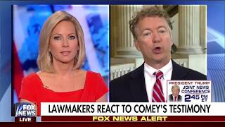 Rand Paul on James Comey