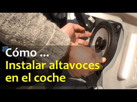 Cómo instalar altavoces en las puertas del coche