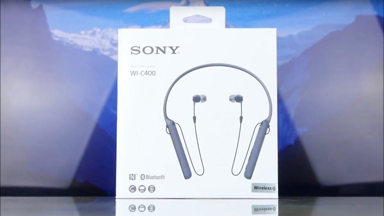 Наушники Sony (WI-C400) Black video preview