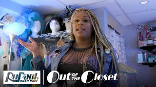Inside Peppermint's Broadway Dressing Room | RuPaul's Drag Race Out Of The Closet