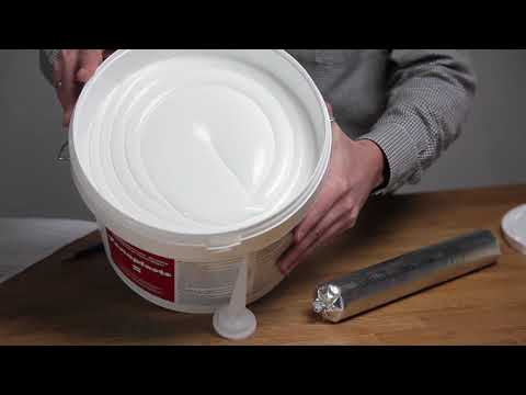 Двокомпонентний поліуретановий герметик OKSIPLASTS youtube