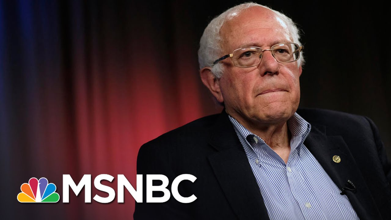 Prominent Democrats Pushing Bernie Sanders To Drop Out | MSNBC thumbnail