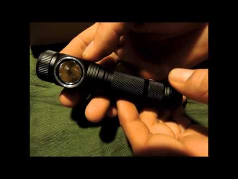 Search & Rescue Headlight/Headlamp | H10 (Black) CREE MT-G2 Acebeam