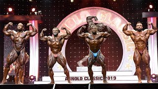 Brandon Curry wins the Arnold Classic 2019 - Top4 Callout Finals [4k]