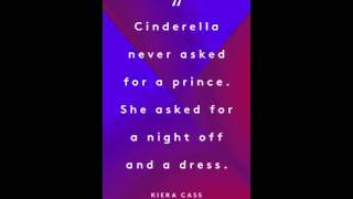 Quotes- If Cinderella were real