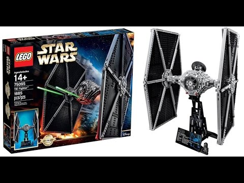 Vidéo LEGO Star Wars 75095 : TIE Fighter
