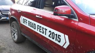 Gambar cover MERCEDES BENZ GLE coupe and GLC and  more OFF ROAD TEST Benz in mud and water