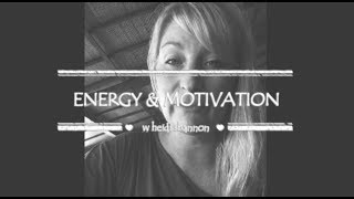 What Zaps Our Energy & Motivation