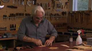 LEDER-LOUIS, Herstellung eines Messeretuis
