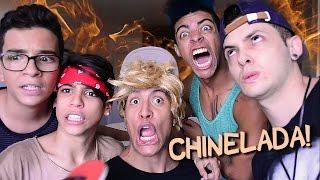 PASSA OU REPASSA COM CHINELADA! (ft. Caracol Raivoso, Everson Zoio, Deni e Gabryel)