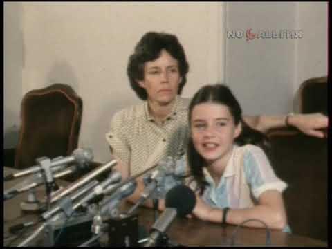 Саманта Смит прощается с Москвой 22.07.1983