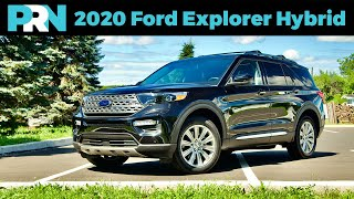 2020 Ford Explorer Limited Hybrid AWD Full Tour & Review