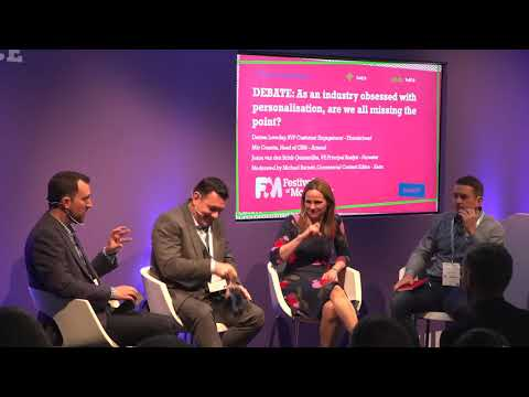 DEBATE: As an industry obsessed with personalisation, are we all missing the point?