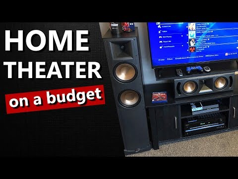 Home Theater On A Small Budget | Youthman Deal on Klipsch RF82 and RC62