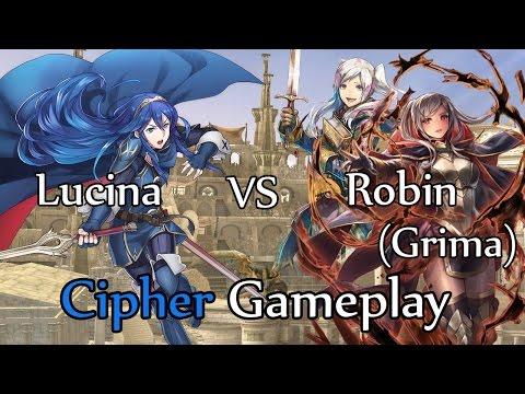 Fire Emblem Cipher 0 Gameplay: Eldigan vs Say'ri | STAMP TUBE