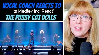 Vocal Coach Reacts to The Pussycat Dolls Medley inc new song 'React'