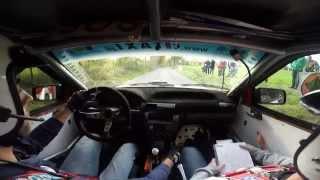 preview picture of video '2. Rajd Wielkopolski Mosina 2014 - OS Baranówko II - Patryk Scieszynski / Bartosz Michalski'