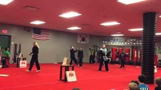 Westtown Thornbury Elementary After-School Karate Graduation, May 6th 2016