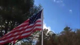 PVC Pipe Flagpole