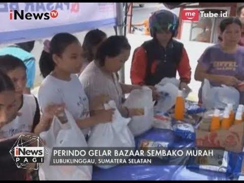 DPD Perindo Lubuk Linggau Gelar Bazar Sembako Murah & Bagi Ta'jil Gratis - iNews Pagi 31/05