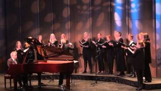 Evans Choir conducted by Dr. Catherine Sailer sings Joni Mitchell/Christopher O'Riley