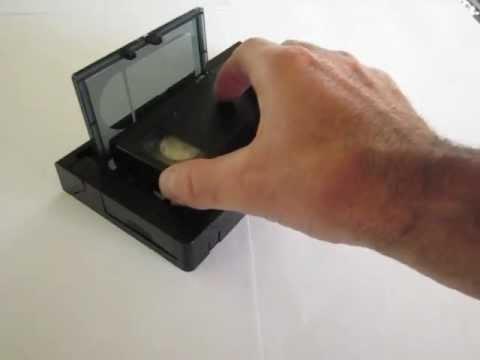 comment reparer une cassette vhs