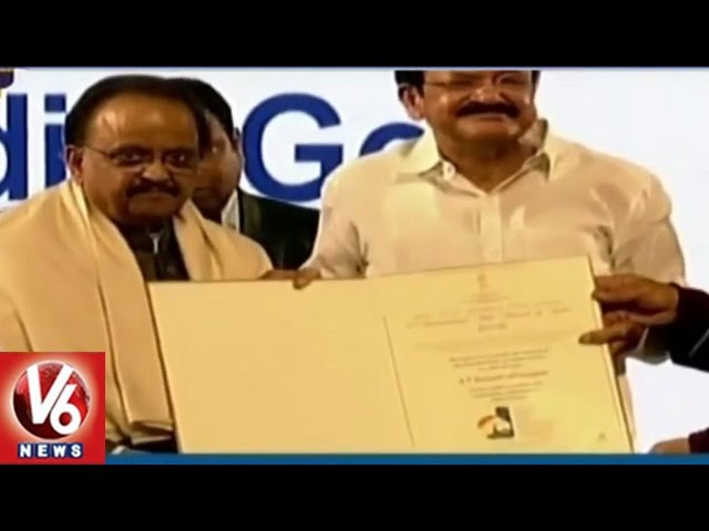 S P Balasubrahmanyam Honoured With Centenary Award At IFFI