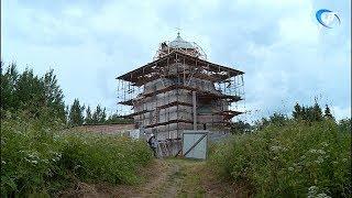 Реставрация церкви Николы на Липне близится к завершению